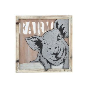 "Some Pig - 15.75"" Wall Decor"