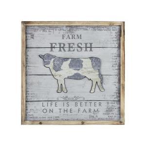 Fresh Dairy - 23.5 Inch Wall Decor