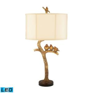 Three Bird Light - 31 Inch 9.5W 1 LED Table Lamp