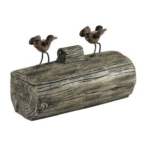 Altura - 11 Inch Little Birds On A Log Box