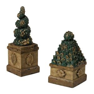 10 Inch Topiary Tree Boxes (Set of 2)
