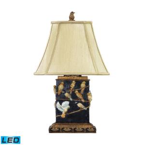 "Birds on a Branch - 20"" 9.5W 1 LED Table Lamp"