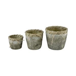 Stonebriar - 7 Inch Planters (Set of 3)