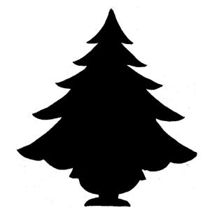 Christmas Tree 2 - 5.5- Inch Cookie Cutter (Set of 6)