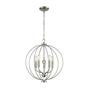 Williamsport - Five Light Chandelier