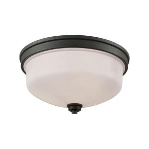 Casual Mission - Three Light Flush Mount