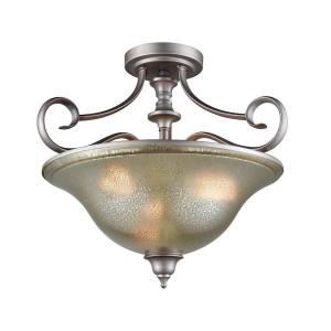 Georgetown - Three Light Semi-Flush Mount