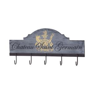 Chateau - 22 Inch 5-Hook Coat Rack