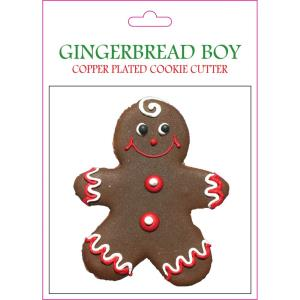 Gingerbread Boy - 6.81- Inch Cookie Cutter (Set of 6)