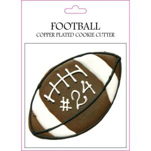 Football - 6.81- Inch Cookie Cutter (Set of 6)