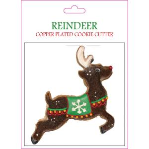 Reindeer - 6.81- Inch Cookie Cutter (Set of 6)