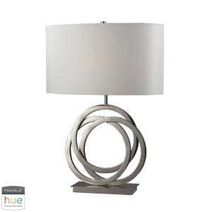 "Trinity - 25"" 60W 1 LED Table Lamp with Philips Hue LED Bulb/Bridge"