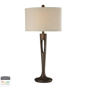 "Martcliff - 35"" 60W 1 LED Table Lamp with Philips Hue LED Bulb/Bridge"