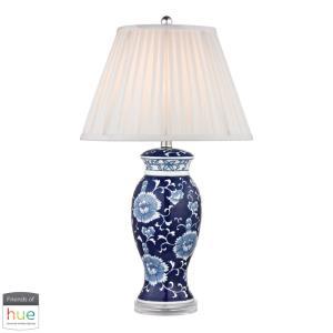 "Dimond - 28"" 60W 1 LED Table Lamp with Philips Hue LED Bulb/Bridge"