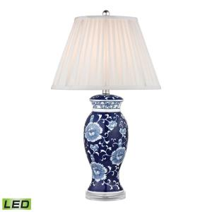 "Dimond - 28"" 9.5W 1 LED Hand Painted Table Lamp"