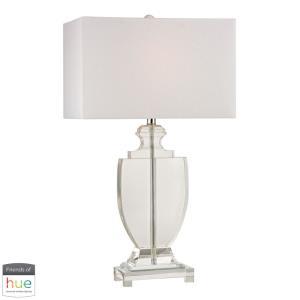 "Avonmead - 26"" 60W 1 LED Table Lamp with Philips Hue LED Bulb/Bridge"