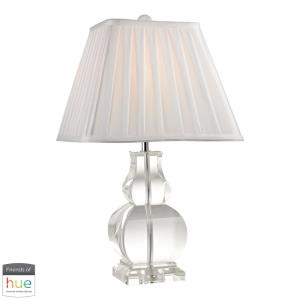 """Downtown - 19"""" 60W 1 LED Table Lamp with Philips Hue LED Bulb/Dimmer"""