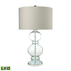 Curvy Glass - 32 Inch 9.5W 1 LED Table Lamp