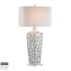 36 Inch 60W 1 LED Table Lamp with Philips Hue LED Bulb/Dimmer