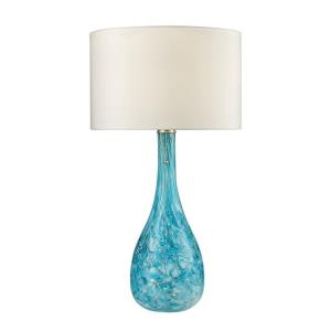Mediterranean - One Light Table Lamp