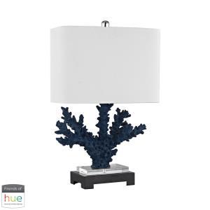 "Cape Sable - 26"" 60W 1 LED Table Lamp with Philips Hue LED Bulb/Bridge"
