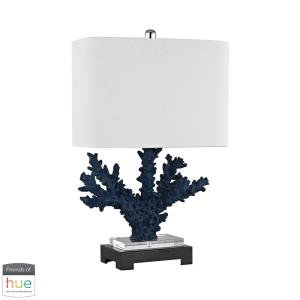 """Cape Sable - 26"""" 60W 1 LED Table Lamp with Philips Hue LED Bulb/Dimmer"""