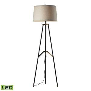"Functional Tripod - 54"" 9.5W 1 LED Floor Lamp"