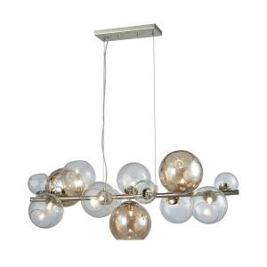 Bubble - Nine Light Bar Pendant