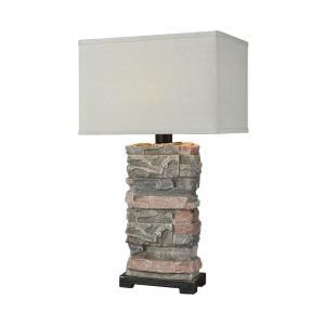 Terra Firma - One Light Outdoor Table Lamp