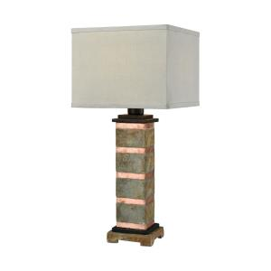 Controlled Burn - One Light Outdoor Table Lamp