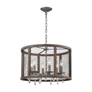 Renaissance Invention - Six Light Drum Pendant