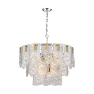 Darjeeling - Twelve Light Large Pendant