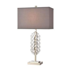 Icy Reception - One Light Table Lamp