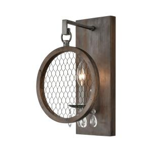 Renaissance Invention - Transitional Style w/ ModernFarmhouse inspirations -  1 Light Wall Sconce - 15 Inches tall 9 Inches wide