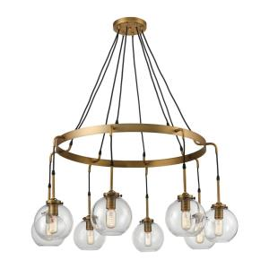 Mountain Creek - Eight Light Large Pendant