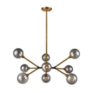 Starting Point - 31 Inch 3.2W 9 LED Pendant