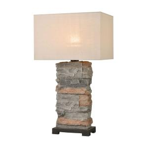 Clean Slate - 1 Light Outdoor Table Lamp