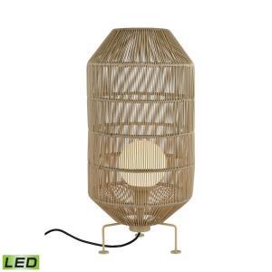 Corsica - 1 Light Outdoor Round Floor Lamp