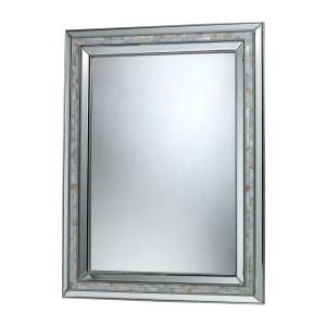 Sardis - Traditional Style w/ Luxe/Glam inspirations - Composite Mirror - 39 Inches tall 29 Inches wide