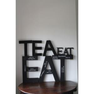 Eat English Style - 6- Inch Wall Decor