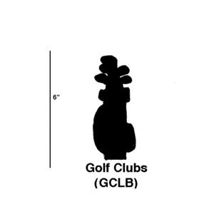 Golf Clubs - 5.5- Inch Cookie Cutter (Set of 6)