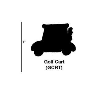 Golf Cart - 5.5- Inch Cookie Cutter (Set of 6)