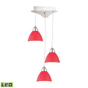 Piatto - 11 Inch 15W 3 LED Mini Pendant