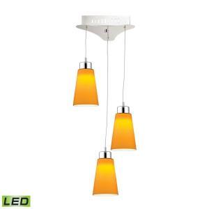 Coppa - 11 Inch 15W 3 LED Pendant