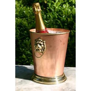 "Antique Reproduction - 8.63"" English Wine Bucket"