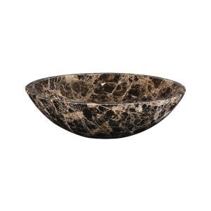 17 Inch Round Stone Vessel Sink