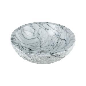 5.75 Inch Round Stone Vessel Sink