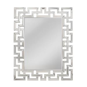 Hoxley - 46.5 Inch Greek Key Motif Mirror