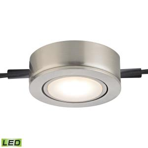 """2.75"""" 4W 1 LED Metal Housing without Power Cord, 2 Tail, Epistar Chips, Box Package"""