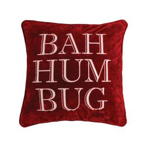 """Bah Hum Bug - 20x20"""" Pillow Cover Only"""